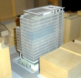 Howe St office model